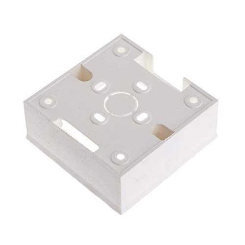 86X86 PVC Junction Box Wall Mount Cassette For Switch Socket Base VILKABA