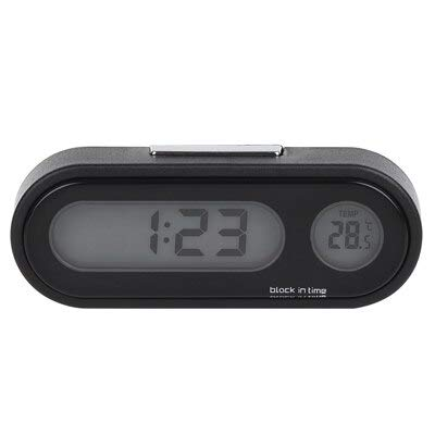 (Cacys-Store - Car Mini Electronic Clock Time Luminous Thermometer For Chevrolet Cruze Orlando Lacetti Lova Sail EPICA Malibu Volt Camaro)