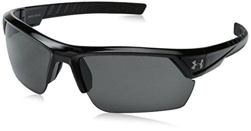 Under Armour Igniter 2.0 Shiny Black Frame, with Black Rubber and Gray ()