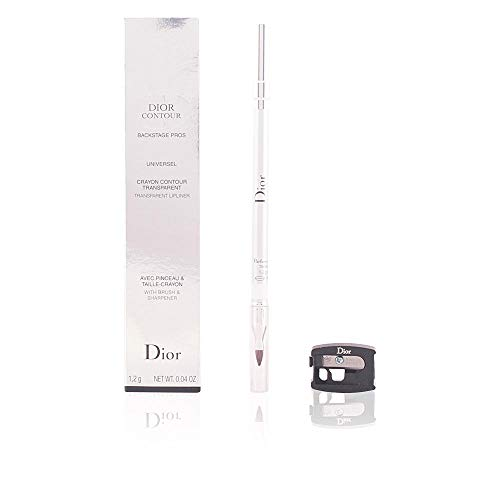 (Christian Dior Contour Transparent Lipliner with Brush and Sharpener for Women, 0.04 Ounce)