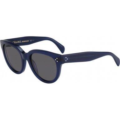 Céline Sunglasses - 41755/S / Frame: Blue Lens: Dark - Cat Celine Sunglasses Eye