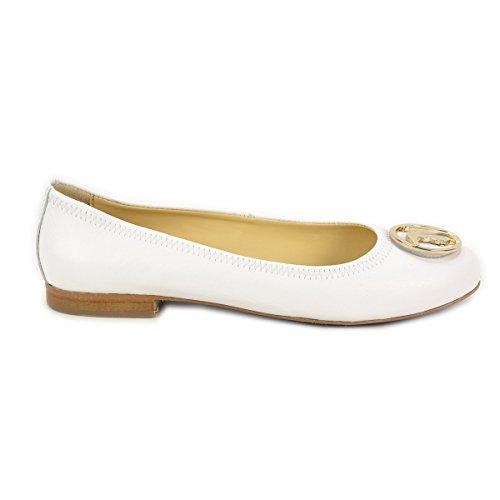 01 Para Trussardi Bailarinas Jeans Mujer Bianco 79s07849 Blanco tnxqYg1O