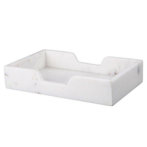 "Evco International Creative Home #32733 Creamy White Organizer Tray, 5.7 x 9.5 x 3"", Creamy White"