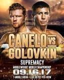 Canelo Vs. Golovkin poster