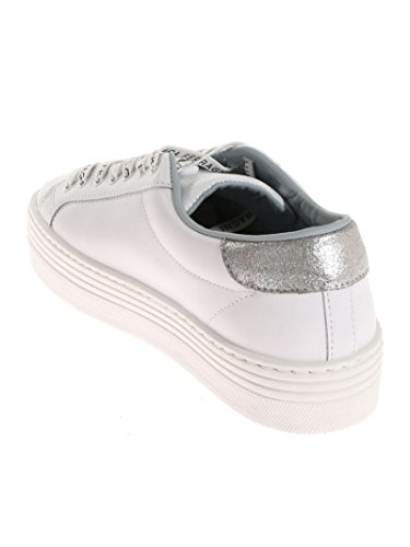 Cf1920 Weiss Duidelijk Ferragni Damen Leder Sneakers