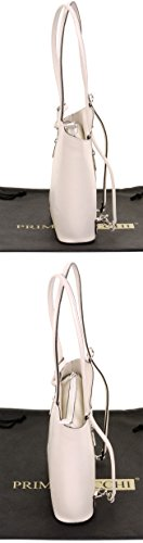 moyennes Blanc de ou à à nbsp;Versions bandoulière cuir de un sac sac protecteur fabriqué la rangement à et main Sac Moyen dos en sac nbsp;Comprend Cassé italien grandes main marque à wSnUqqC