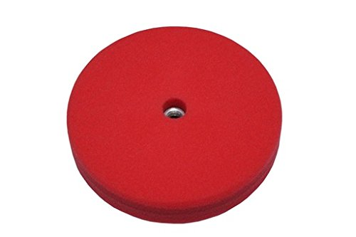 Lat 26 Red Finessing Detailing Pad - 8'' - Double Sided