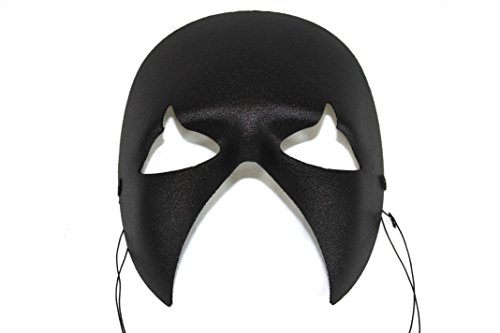 Success Creations Midnight Black Men's Masquerade -
