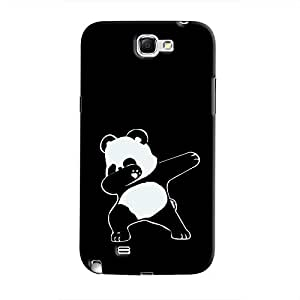 Cover It Up - Dabbing Panda Galaxy Note 2 N7100 Hard Case