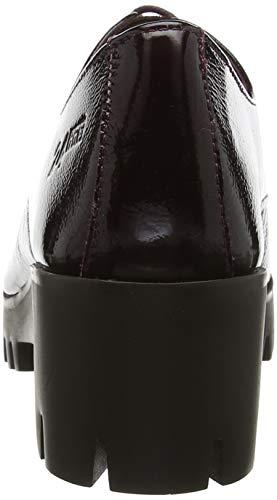 Mujer 12 Zapatos De Horas 24 23851 vino Oxford Para Cordones Morado g0qxvA
