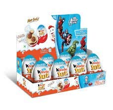 Kinder Joy chocolate FOR BOYS- 8 PACK- SHIPS FROM -