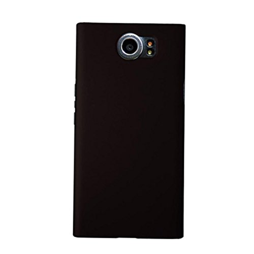 Aobiny Cell Phone Case Hard Rubberized Matte Slim Cover for Blackberry Priv (Blackberry Rubberized Skin)