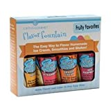 Lorann Gourmet Flavor Fountain Fruity Favorites 4 Pack