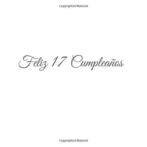 Amazon.com: Feliz 17 cumpleaños: Libro De Visitas 17 Años ...