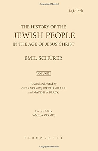 Download The History of the Jewish People in the Age of Jesus Christ: Volume 1 pdf