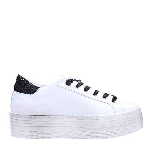 2star Donna 2051 Bianco Sneakers nero rrf6gT
