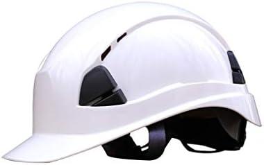 LCSHAN 厚いABSヘルメット工事現場の電気技師のヘルメットの紫外線保護