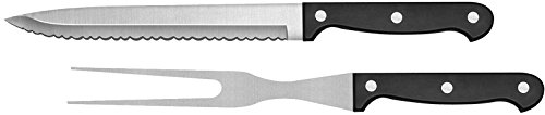 Ginsu Essential Series Stainless Steel Black Original Slicer and Carving Knife, 04850DS