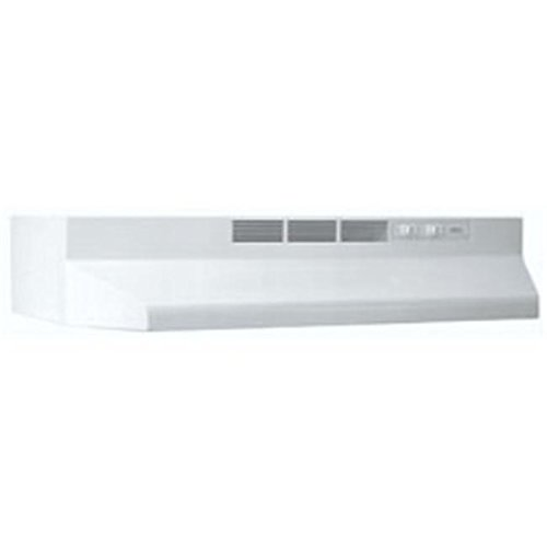 Broan 412401 24 Inch Non-Ducted Range Hood White /RM#G4H4E54 E4R46T32577290 (24 Inch Non Ducted Range Hood compare prices)