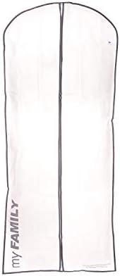 Compactor Set de 3 |Bolsas para Vestidos Neotex-60xH 137 cm-NW 0,120 Kg | con Ventana de EVA, Blanco, Grande