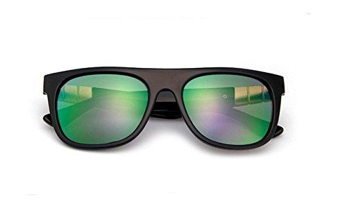 de Bright de tendencia gafas sol Moda sol amethyst de GLSYJ retro gafas black de color sol gafas gafas brillante LSHGYJ 7x8XtwTqq