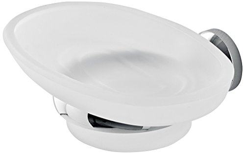 Toscanaluce 1501-638845329552 Riviera Collection Modern Wall Mounted Soap Dish, Chrome
