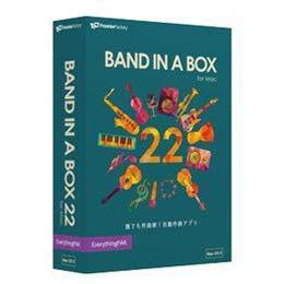 パソコン オフィス用品 その他 イーフロンティア Band-in-a-Box 22 for Mac EverythingPAK PGBBMEM111 BANDINABOX22EP/WN -ak [簡易パッケージ品] B07H36S8DG