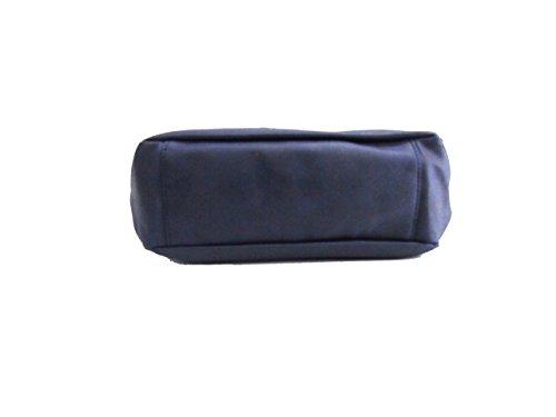 Borsa donna modello tracolla grande linea lilac Renato Balestra 101-8 Blu