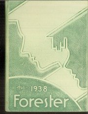 Reprint  Yearbook  1938 Forest Avenue High School Forester Yearbook Dallas Tx