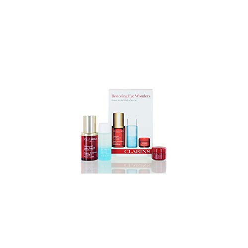 Restoring Eye Wonders Set - 102.00 Value (Clarins Super Restorative Total Eye Concentrate 15ml)