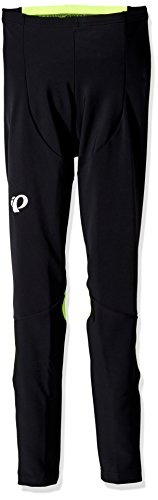 Pearl iZUMi Pursuit Thermal Tights, Black/Screaming Yellow, X-Large by Pearl iZUMi
