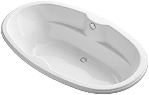 (KOHLER 1149-0 7242 Oval Bath, White)