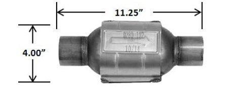 CATCO Catalytic Converter - OBDII Universal California 750006