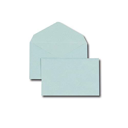 500 pezzi GPV 90 x 140 mm Confezione di buste per lettere colore blu 75 g//m/²