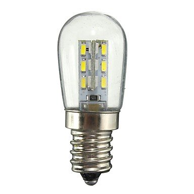 XYY 1W E12 LED Globe Bulbs 24 SMD 2835 50-99 lm Warm White White Decorative AC110 AC220 V 1 pcs, 110v