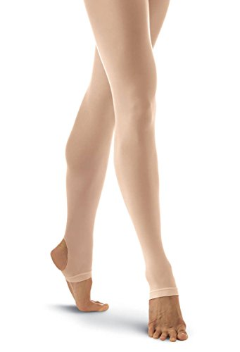 Balera Tights Womens Nylons For Dance Stirrup Adult Hosiery For Class And Performance Comfortable And Durable - Adult Stirrup Tights