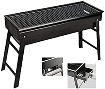 Portable Folding BBQ Barbecue Camping Grill Rack Picnic For Cooking /& Barbeques