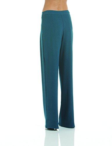 Anna Cristy 5118, Pantalones Para Mujer Azul (Ottanio)