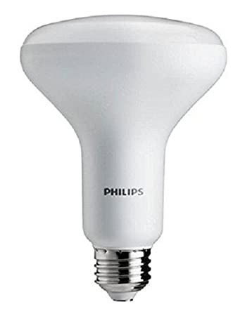 Philips 65W Equivalent LED BR30 Soft Flood Light Bulb With Dimmable White