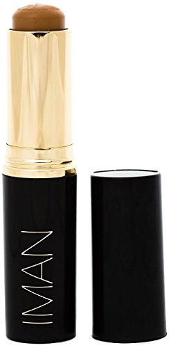 IMAN Cosmetics Second to None Stick Foundation, Medium Skin, Clay 5