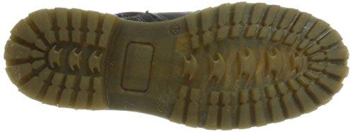 Yellow Cab Herren Atlante Biker Boots Schwarz (nero)