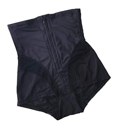 Women Body Shaper High Waiset Butt Lifter Tummy Control Zipper Shapewear Waist Trainer Slimmer Bodysuits Seamless Strapless Slimming Panty