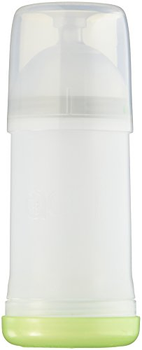 Adiri Nxgen Stage 1 Nurser Slow Flow Baby Bottle  White  3 6 Months
