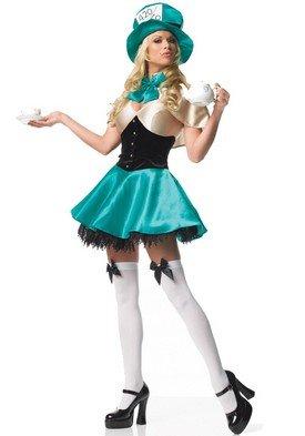 Tea Party Hostess Sexy Costumes (Tea Party Hostess Adult Costume - Medium)