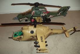Helicopter Small Toy Gift Army-green