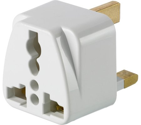 Price comparison product image Design Go Uk Grounded Adaptor, White