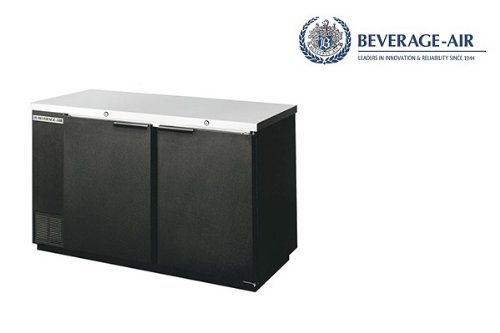 Beverage-Air Commercial Refrigeration 58 Solid Door Back Bar Bb58R-1-S - Beverage Air Back Bar