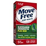 Image of Move Free Joint Health, Glucosamine Chondroitin Advanced Plus MSM, Dietary Supplement, 1500 mg