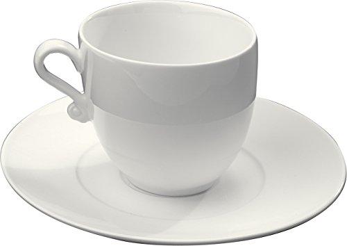 Trame Espresso Cup and Saucer (Set of 4) Shape Demitasse Saucer