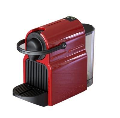 Krups Nespresso® Inissia, Rojo, De 19 bar Pumps Sistema, incluye 16 Cápsulas, depósito de 700 ml: Amazon.es: Hogar